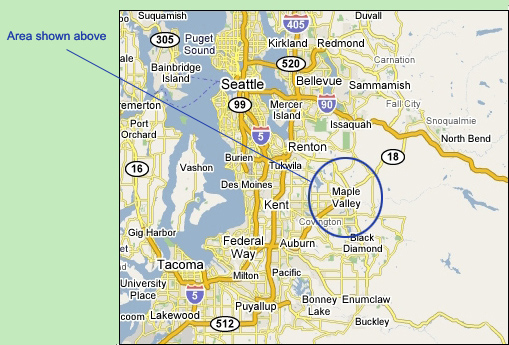 King County Essor Map on